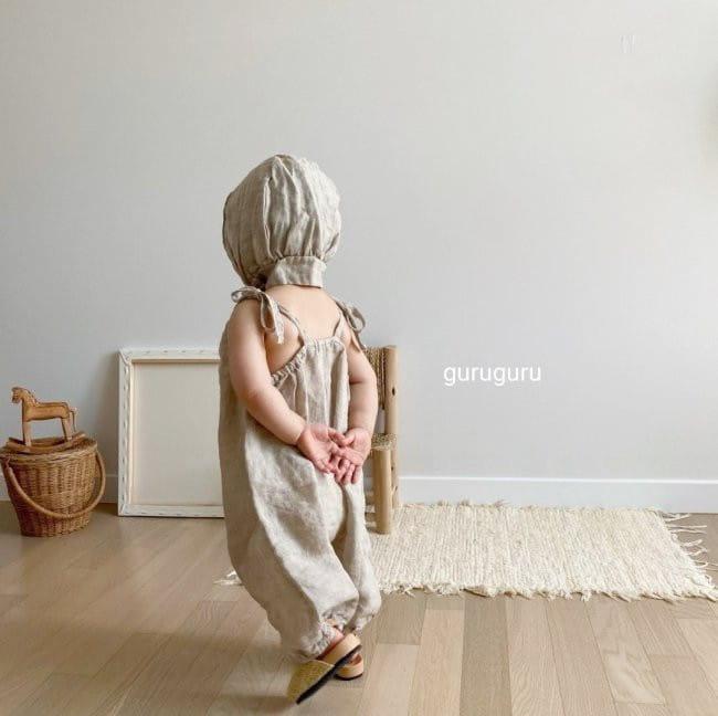 GURU GURU - Korean Children Fashion - #Kfashion4kids - Linen Bonnet - 10