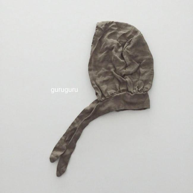 GURU GURU - Korean Children Fashion - #Kfashion4kids - Linen Bonnet - 4