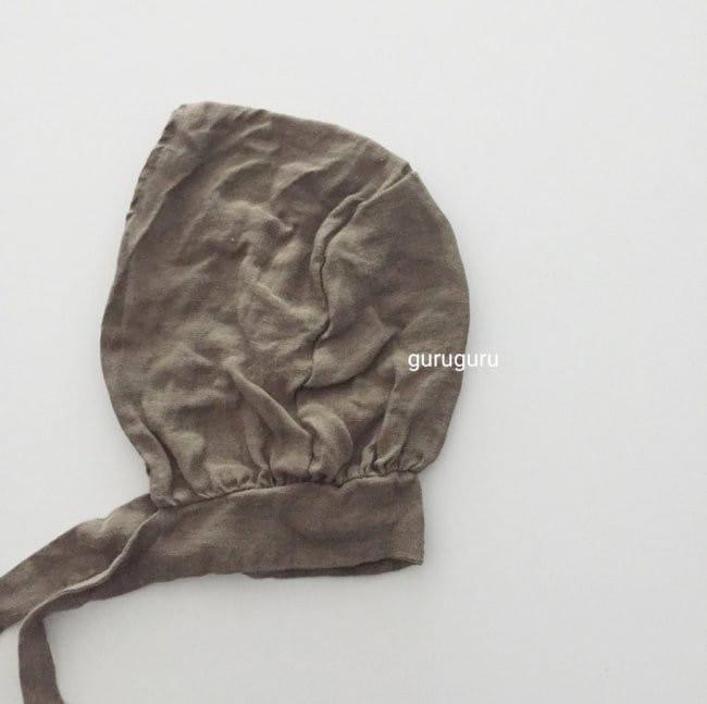 GURU GURU - Korean Children Fashion - #Kfashion4kids - Linen Bonnet - 5