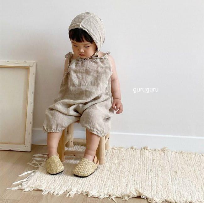 GURU GURU - Korean Children Fashion - #Kfashion4kids - Linen Bonnet - 9