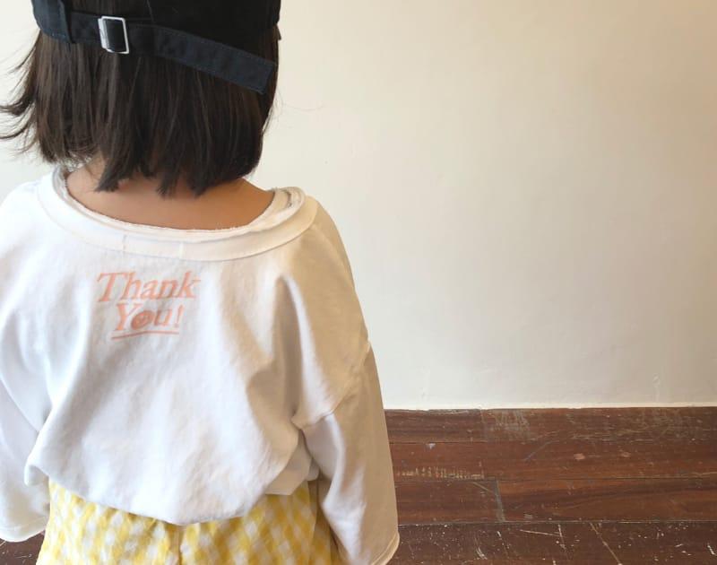 LEA ET MIEL - Korean Children Fashion - #Kfashion4kids - Thank You Tee - 2