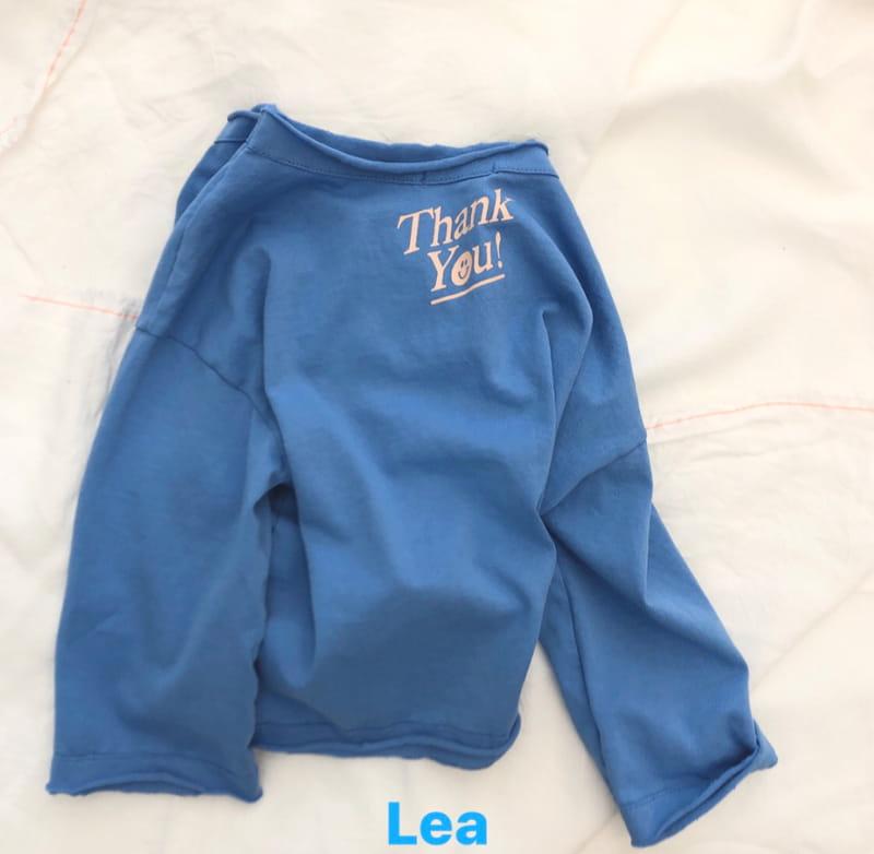 LEA ET MIEL - Korean Children Fashion - #Kfashion4kids - Thank You Tee - 5