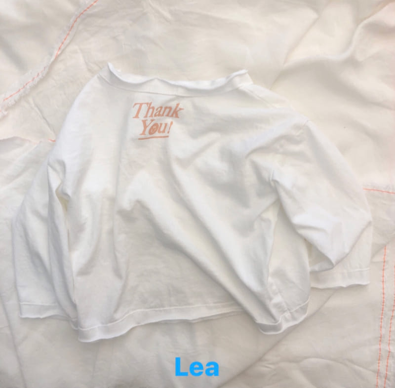 LEA ET MIEL - Korean Children Fashion - #Kfashion4kids - Thank You Tee - 6