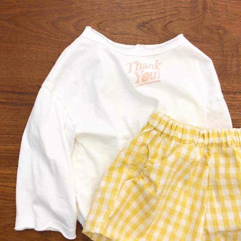 LEA ET MIEL - Korean Children Fashion - #Kfashion4kids - Thank You Tee - 7