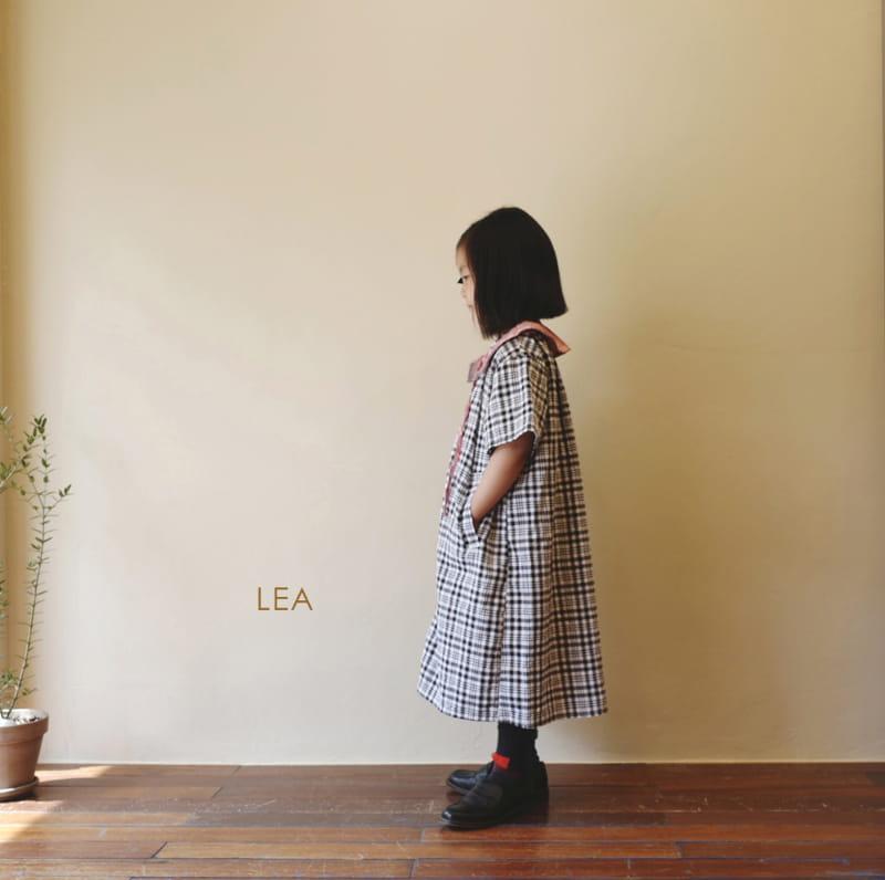 LEA ET MIEL - Korean Children Fashion - #Kfashion4kids - Black Check One-piece