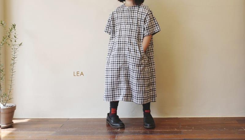 LEA ET MIEL - Korean Children Fashion - #Kfashion4kids - Black Check One-piece - 2