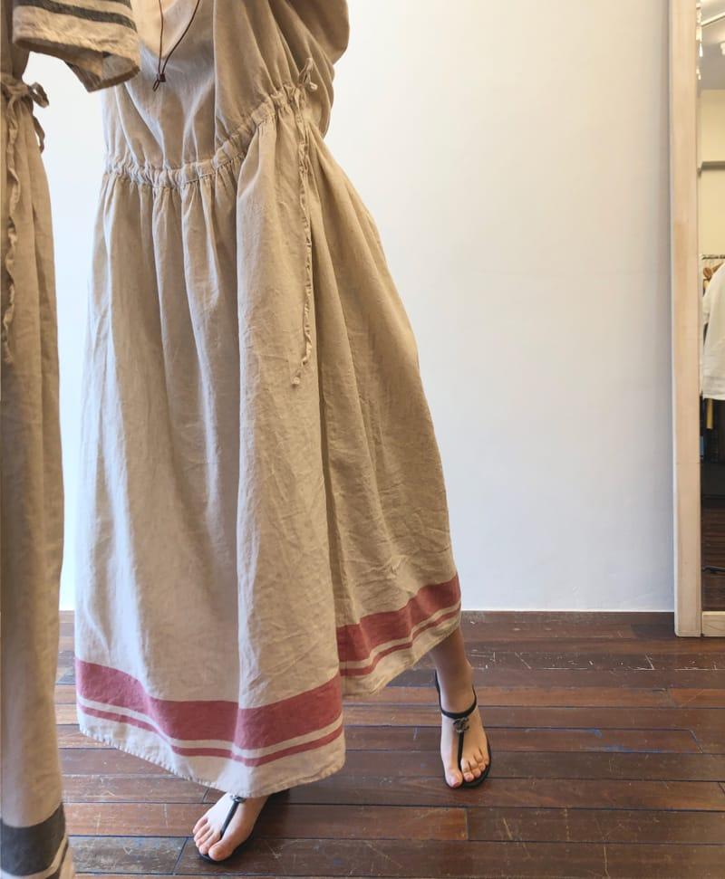 LEA ET MIEL - Korean Children Fashion - #Kfashion4kids - Mom Shirring Lone One-piece - 2