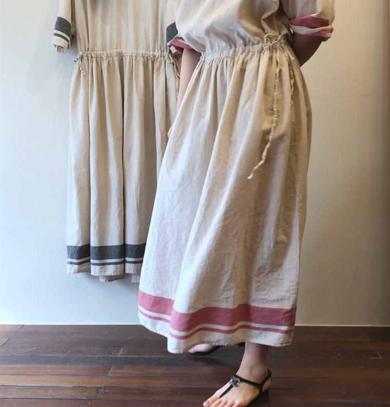 LEA ET MIEL - BRAND - Korean Children Fashion - #Kfashion4kids - Mom Shirring Lone One-piece