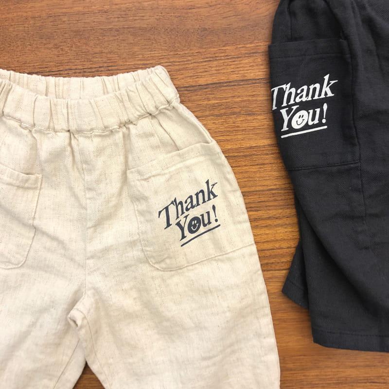 LEA ET MIEL - Korean Children Fashion - #Kfashion4kids - Thank You Pants - 10