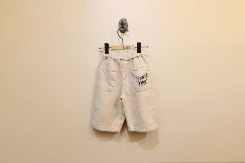 LEA ET MIEL - Korean Children Fashion - #Kfashion4kids - Thank You Pants - 11