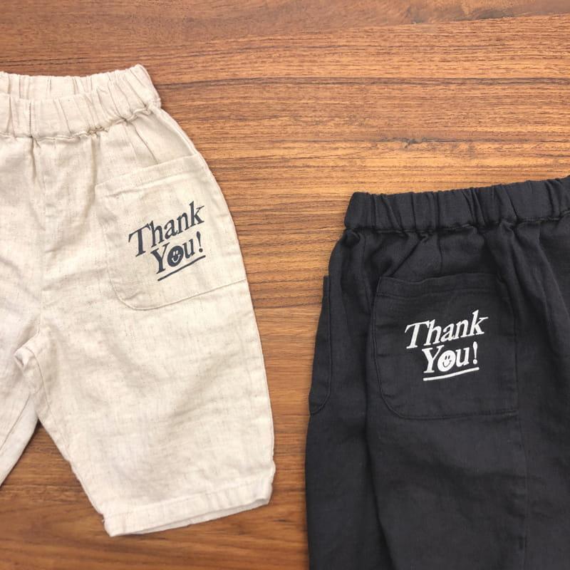 LEA ET MIEL - Korean Children Fashion - #Kfashion4kids - Thank You Pants - 9