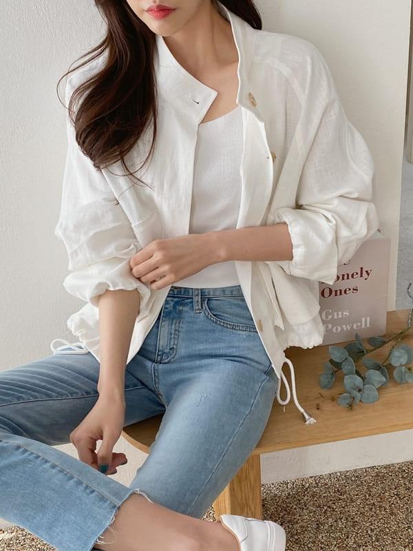 LOUISA - Korean Children Fashion - #Kfashion4kids - Siry Linen Jacket - 2