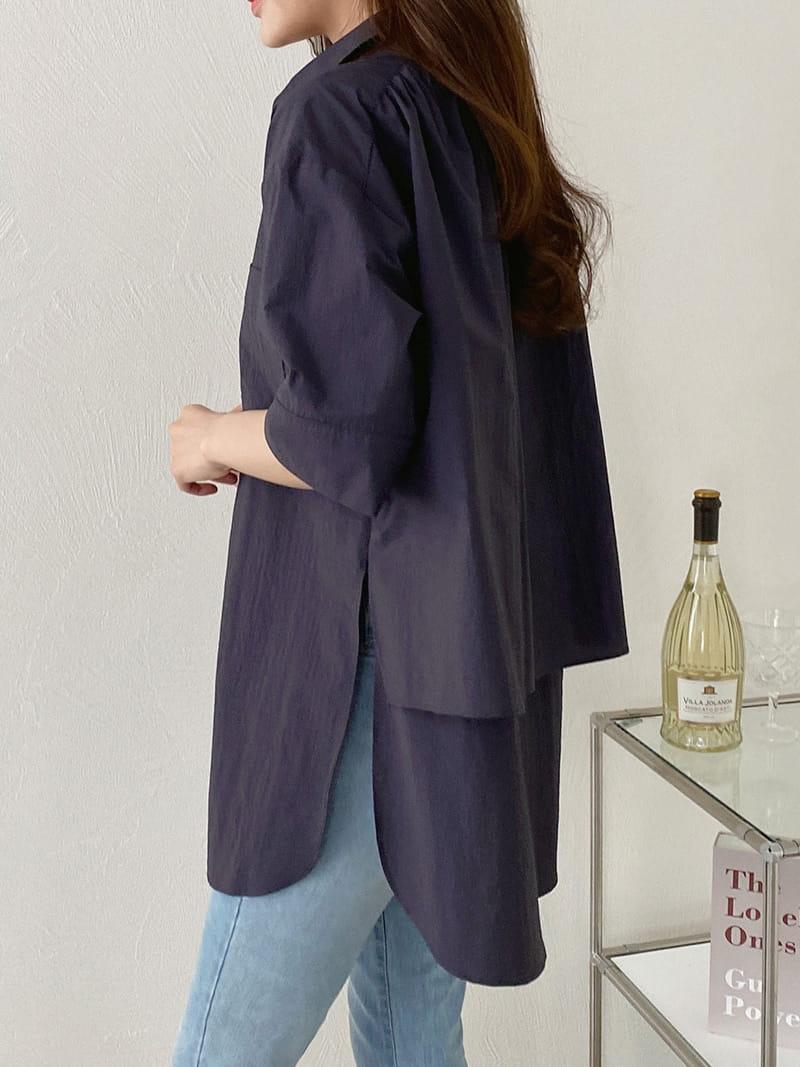 LOUISA - BRAND - Korean Children Fashion - #Kfashion4kids - Old Double Blouse