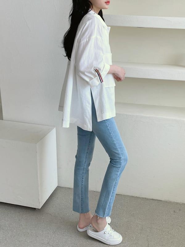 LOUISA - Korean Children Fashion - #Kfashion4kids - Tom Linen Jacket - 4