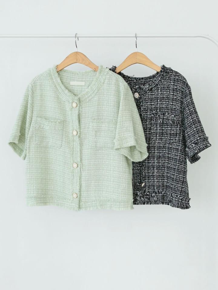 LOWELL - Korean Children Fashion - #Kfashion4kids - Boni Twid Jacket - 4