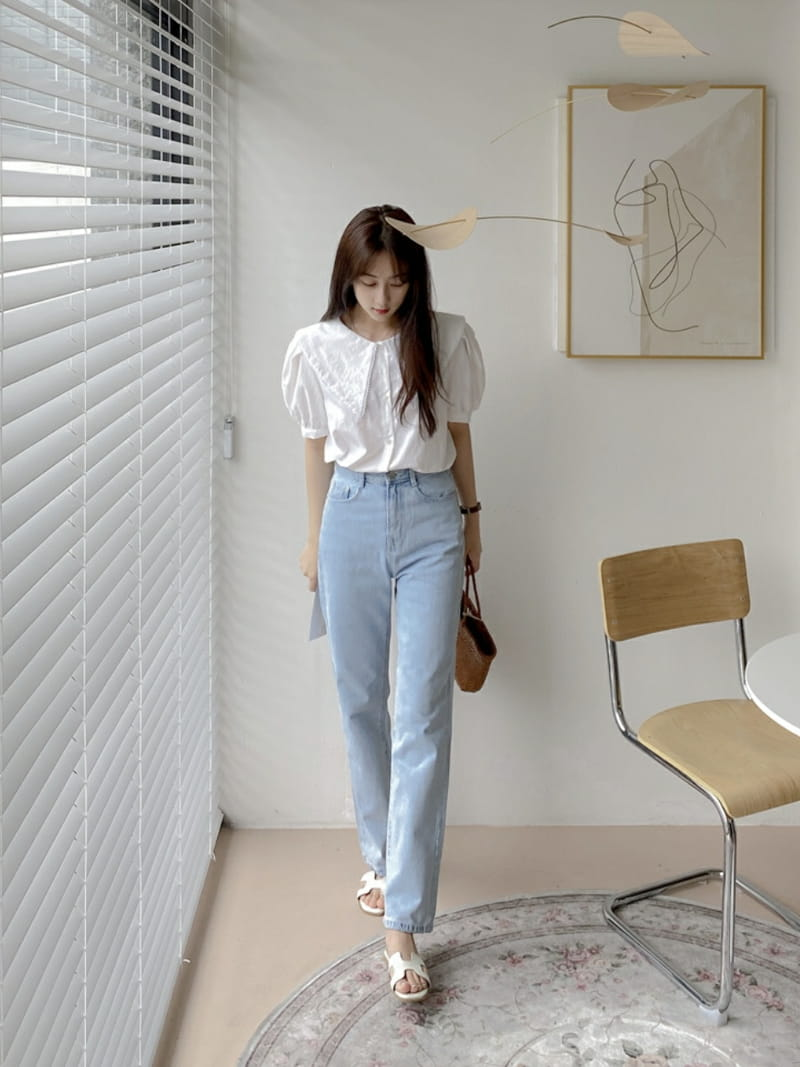 LOWELL - Korean Children Fashion - #Kfashion4kids - Love Me Blouse - 3