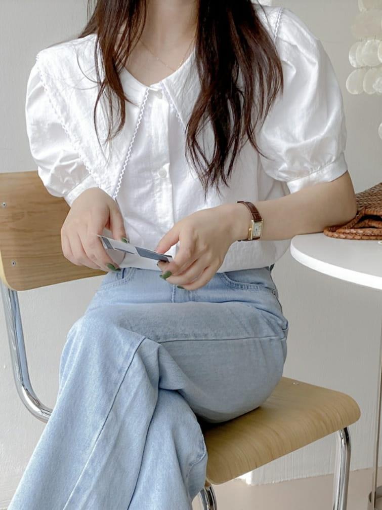 LOWELL - BRAND - Korean Children Fashion - #Kfashion4kids - Love Me Blouse