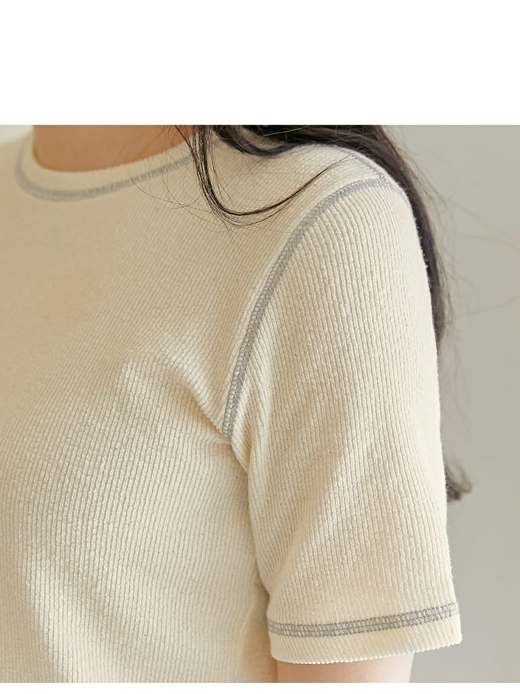 LOWELL - Korean Children Fashion - #Kfashion4kids - Line Tee - 2