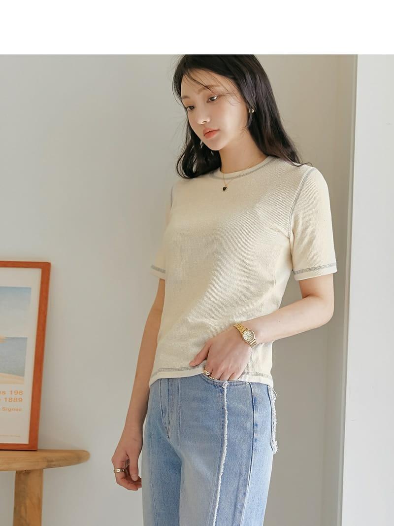 LOWELL - BRAND - Korean Children Fashion - #Kfashion4kids - Line Tee