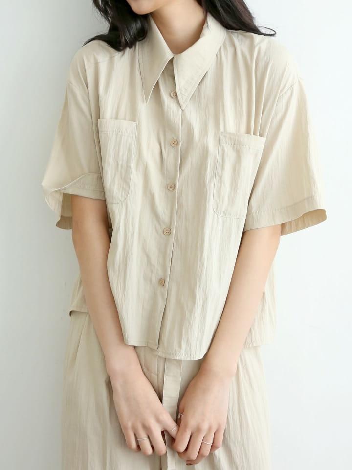 LOWELL - Korean Children Fashion - #Kfashion4kids - Ballan Shirt - 3