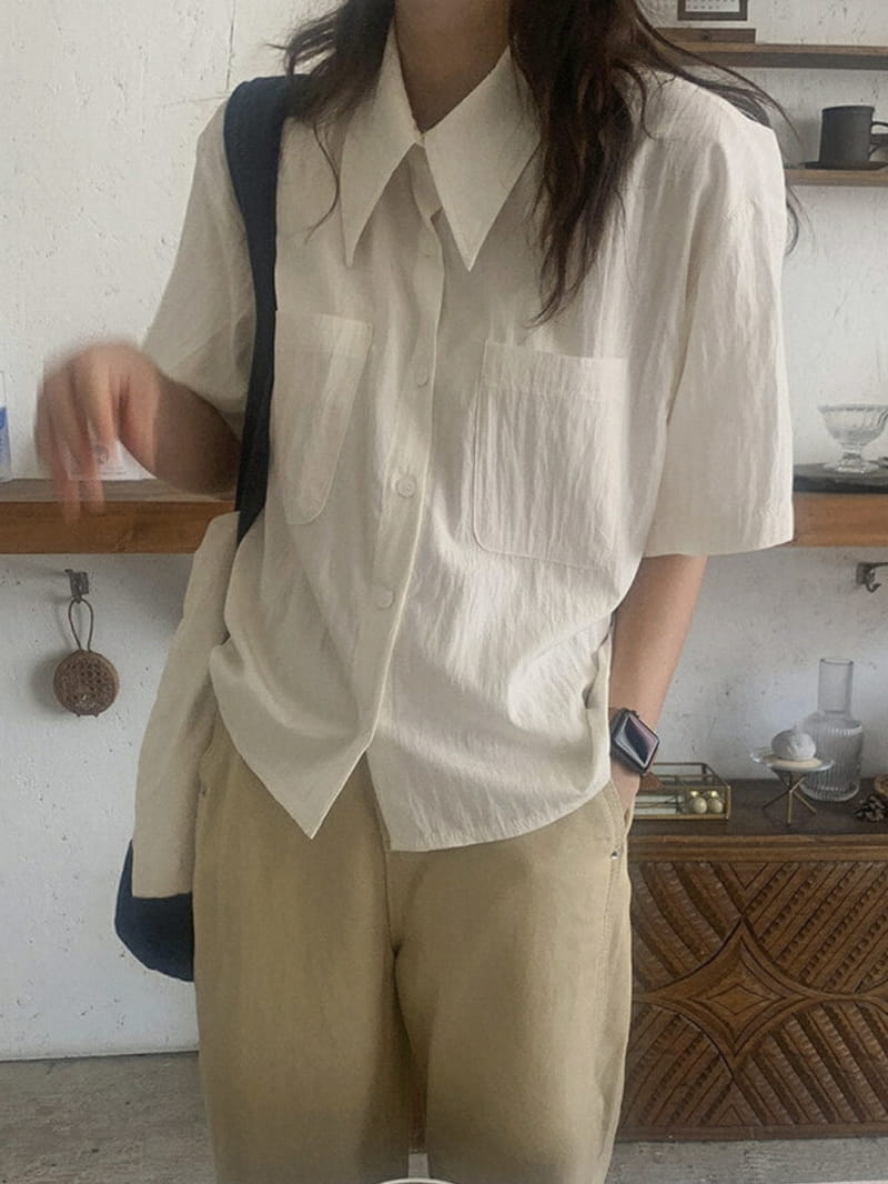 LOWELL - BRAND - Korean Children Fashion - #Kfashion4kids - Ballan Shirt