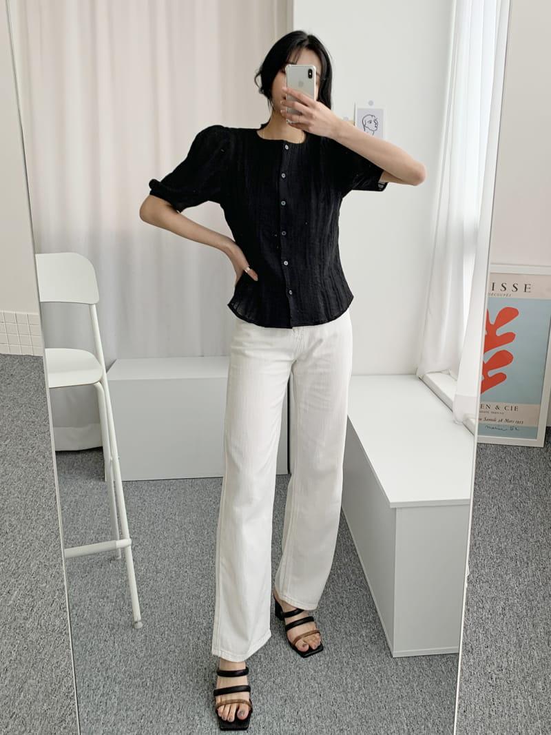 LOWELL - Korean Children Fashion - #Kfashion4kids - Merci Blouse - 2