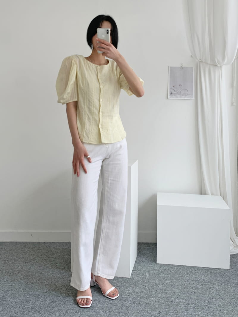 LOWELL - Korean Children Fashion - #Kfashion4kids - Merci Blouse - 3