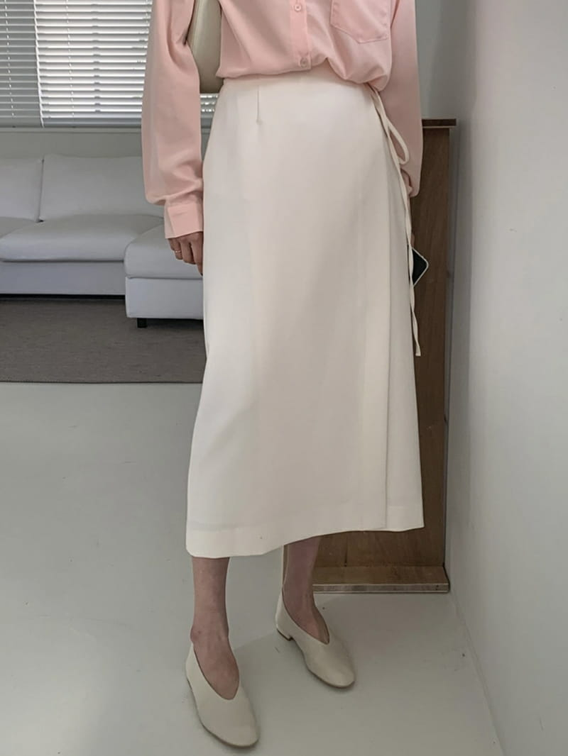LOWELL - Korean Children Fashion - #Kfashion4kids - Wrap Skirt