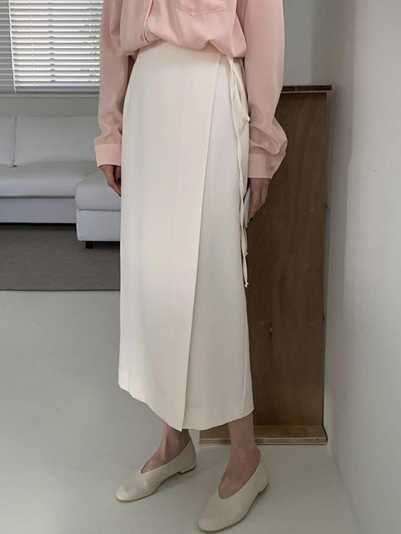 LOWELL - Korean Children Fashion - #Kfashion4kids - Wrap Skirt - 2