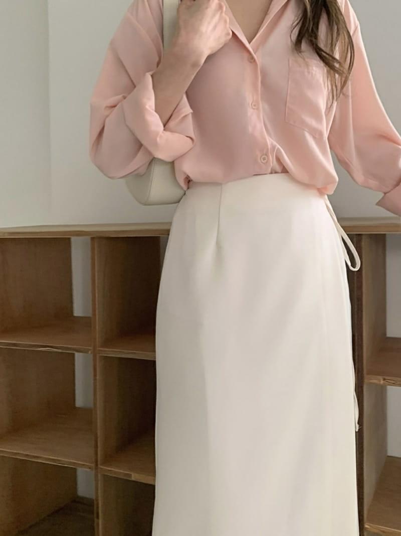 LOWELL - Korean Children Fashion - #Kfashion4kids - Wrap Skirt - 3