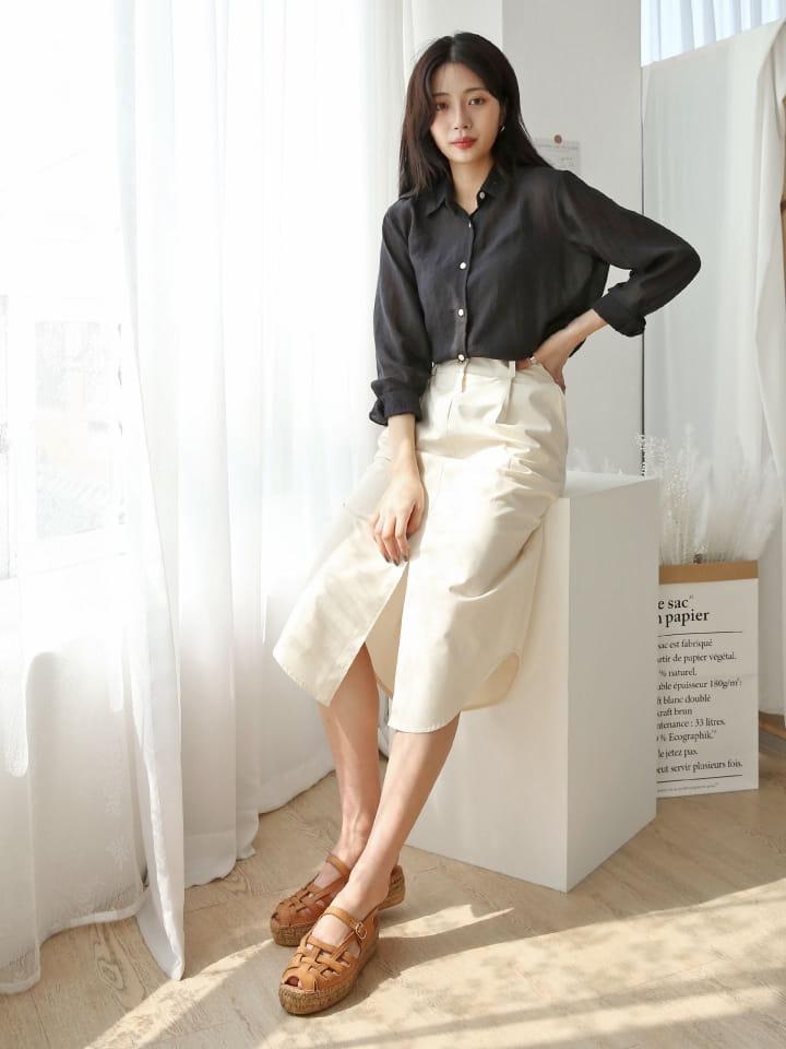 LOWELL - Korean Children Fashion - #Kfashion4kids - Maiden Skirt