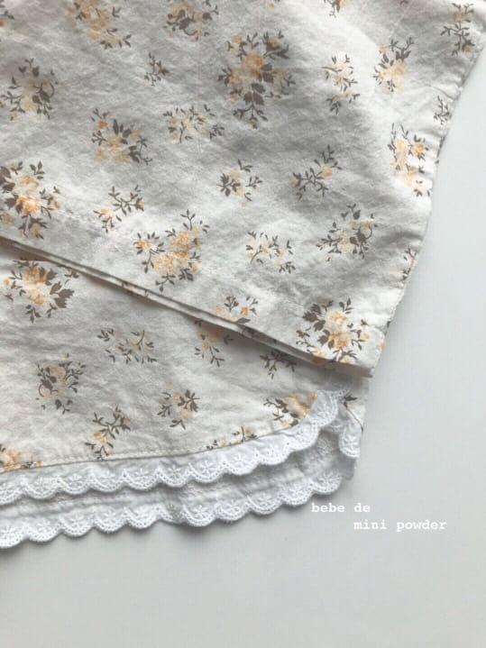 MINI POWDER - Korean Children Fashion - #Kfashion4kids - Lace Frill Top Bottom Set - 10