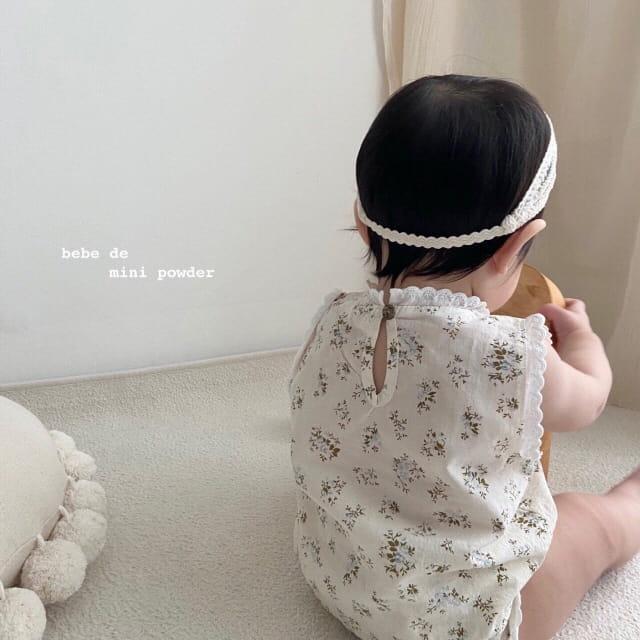 MINI POWDER - Korean Children Fashion - #Kfashion4kids - Lace Frill Top Bottom Set - 3