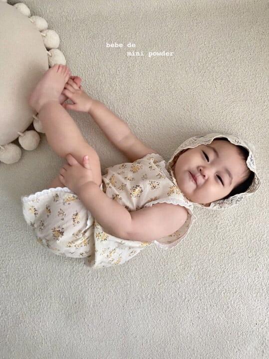MINI POWDER - Korean Children Fashion - #Kfashion4kids - Lace Frill Top Bottom Set - 9