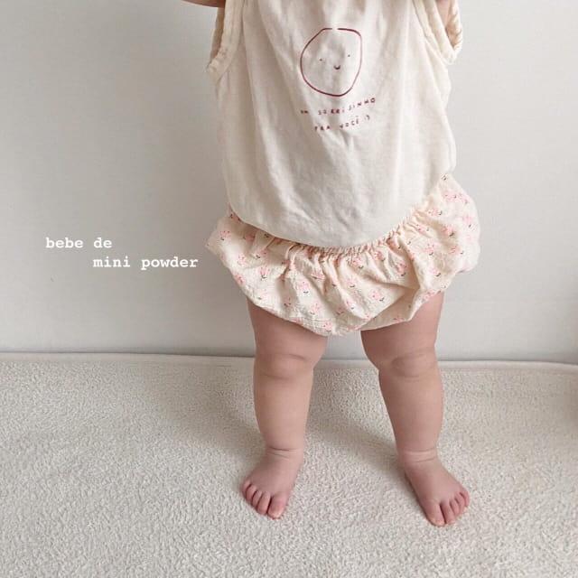 MINI POWDER - Korean Children Fashion - #Kfashion4kids - Cutting Shoulder Botton Tee - 10