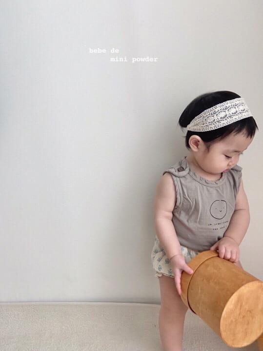 MINI POWDER - Korean Children Fashion - #Kfashion4kids - Cutting Shoulder Botton Tee - 12