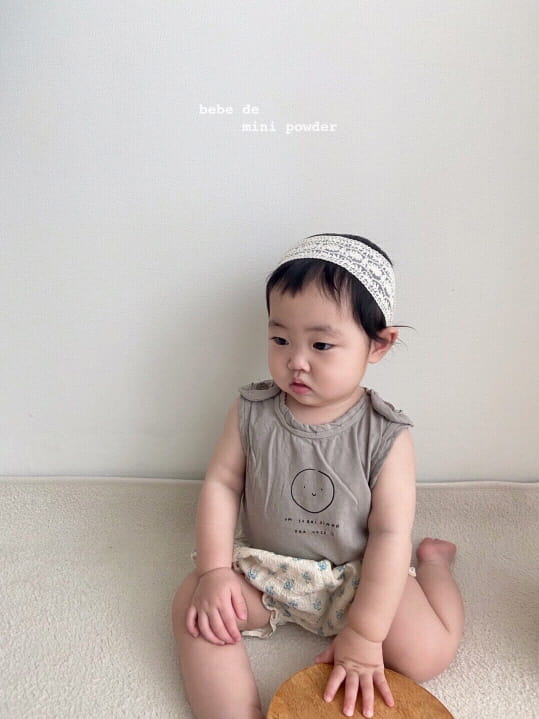 MINI POWDER - Korean Children Fashion - #Kfashion4kids - Cutting Shoulder Botton Tee - 3