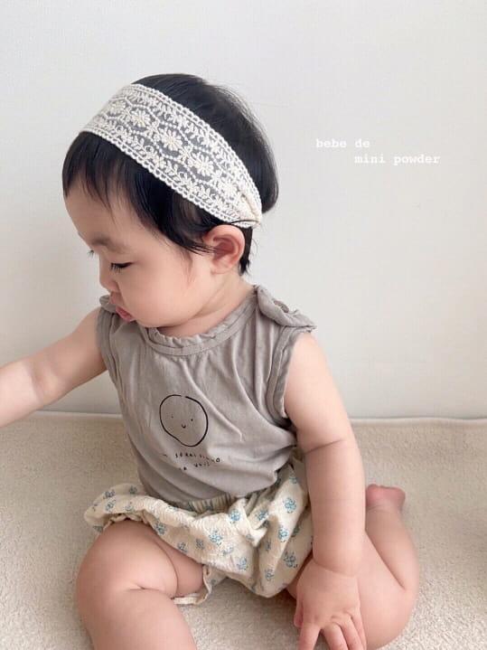 MINI POWDER - Korean Children Fashion - #Kfashion4kids - Cutting Shoulder Botton Tee - 6