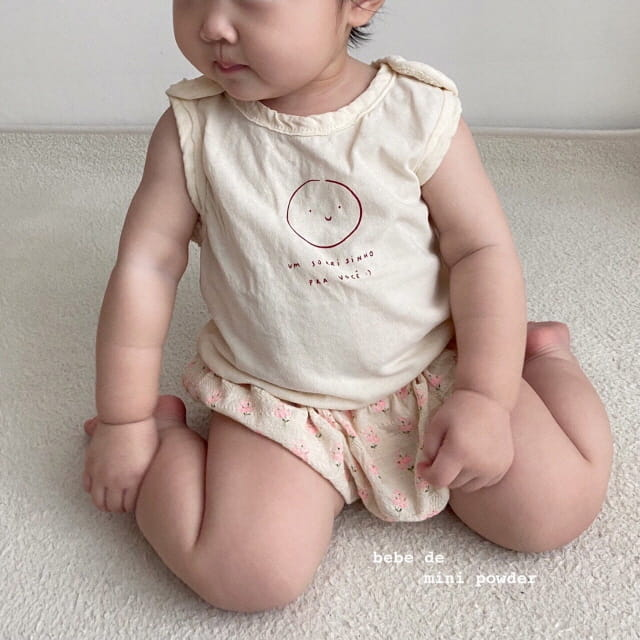 MINI POWDER - Korean Children Fashion - #Kfashion4kids - Cutting Shoulder Botton Tee - 8