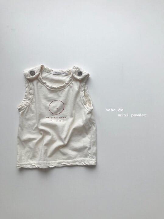 MINI POWDER - Korean Children Fashion - #Kfashion4kids - Cutting Shoulder Botton Tee - 9
