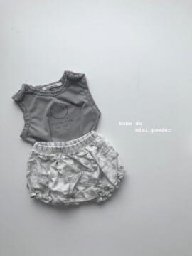 MINI POWDER - Korean Children Fashion - #Kfashion4kids - Floral Bloomers - 10