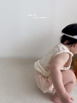 MINI POWDER - Korean Children Fashion - #Kfashion4kids - Floral Bloomers - 4