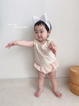 MINI POWDER - Korean Children Fashion - #Kfashion4kids - Floral Bloomers - 5