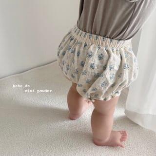 MINI POWDER - Korean Children Fashion - #Kfashion4kids - Floral Bloomers - 7