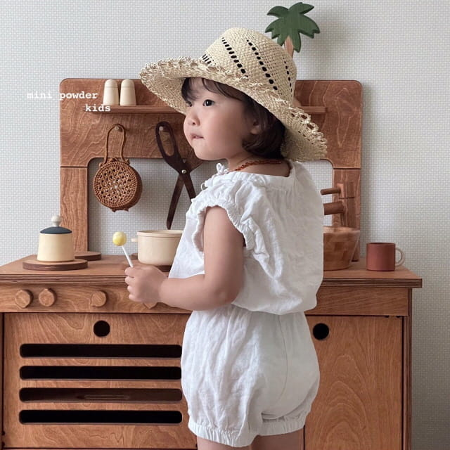 MINI POWDER - Korean Children Fashion - #Kfashion4kids - Banding Top Bottom Set - 3