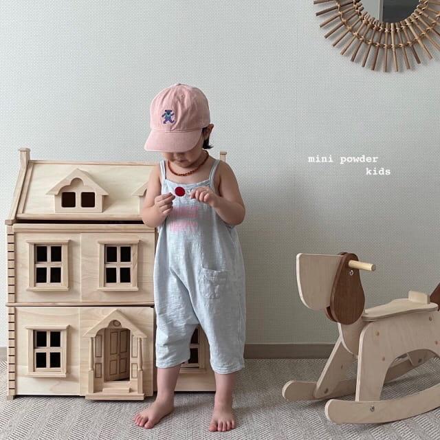 MINI POWDER - Korean Children Fashion - #Kfashion4kids - Slap Jumpsuit - 10