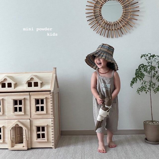 MINI POWDER - Korean Children Fashion - #Kfashion4kids - Slap Jumpsuit - 12