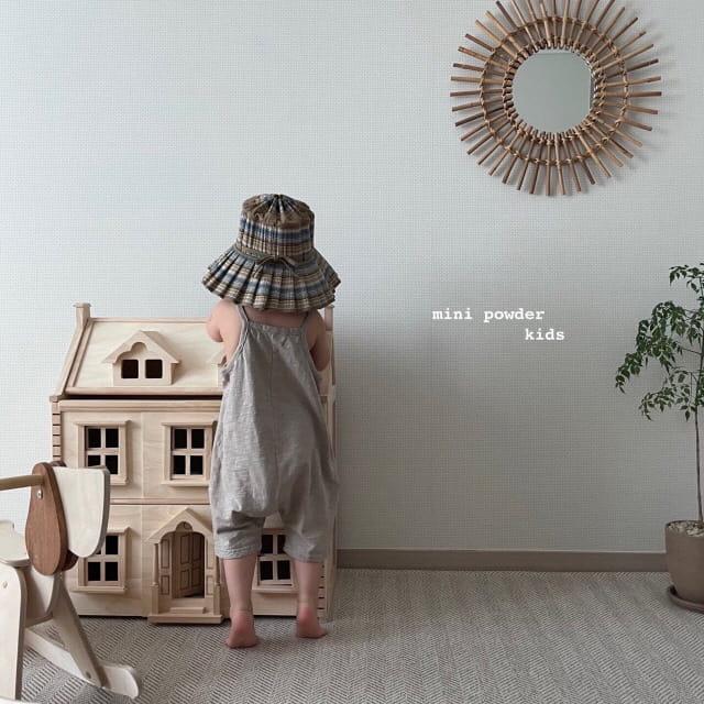 MINI POWDER - Korean Children Fashion - #Kfashion4kids - Slap Jumpsuit - 3