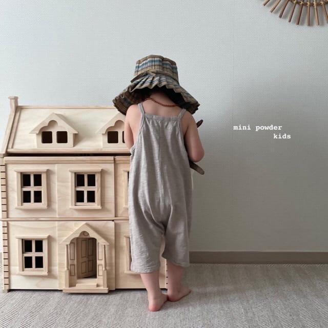 MINI POWDER - Korean Children Fashion - #Kfashion4kids - Slap Jumpsuit - 4