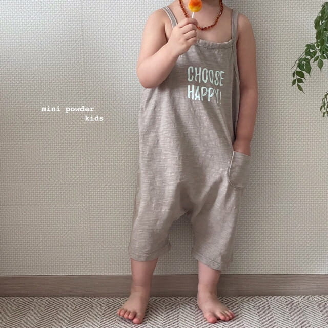 MINI POWDER - Korean Children Fashion - #Kfashion4kids - Slap Jumpsuit - 5